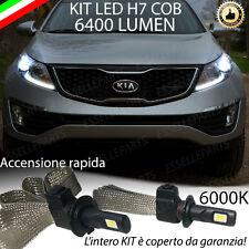 kIT FULL LED KIA SPORTAGE LAMPADE LED H7 6000K XENON BIANCO GHIACCIO NO AVARIA