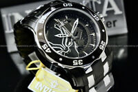 New Invicta MARVEL Pro Diver 48MM BLACK PANTHER LIMITED EDITION Chrono S.S Watch