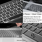 "Laptop Silicone Keyboard Cover Skin For MacBook Pro 13.3"" 15"" AIR 11"" 13"" Apple"