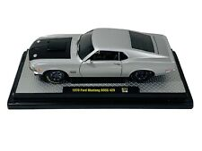 M2 Machines 1:24 Auto Mods 1970 Ford Mustang Boss 429, Silver CASTLINE  C1