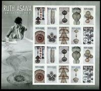 117 2020 Ruth Asawa Artist US Forever Stamps Scott 5504-5513 Panes of 20 MNH