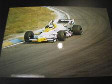 Photo Williams Honda FW09 1984 #6 Keke Rosberg GP F1 Zandvoort (NL)