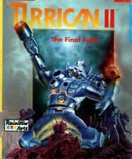"""TURRICAN 2 : floppy disc 3,5"""" Commodore Amiga backup game disk (READ)"""