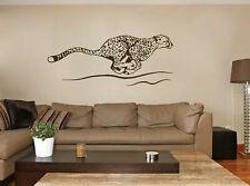 ik231 Wall Decal Sticker Decor cheetah big cat Africa speed animal interior