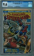 AMAZING SPIDER-MAN #125 CGC 9.6 HIGH GRADE OFF-WHITE TO WHITE PAGES 1973