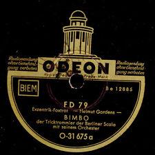 BIMBO -Der Tricktrommler- & SEIN ORCHESTER   FD 79 / Sahara   Schellack    S6324