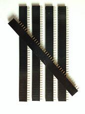 5x Buchsenleiste   40 Pins   RM 2,54   5 Stück