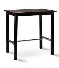 SixBros. Bartisch Bistrotisch Stehtisch Tisch Kiefer Wenge 75x105 BT-105/114