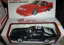 1/24 True Value IROC Dodge Daytona #12 BLack PLASTIC CAR