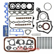 Full Gasket Head Bolt Set+Silicone 99-02 Daewoo Lanos 1.6L DOHC A16