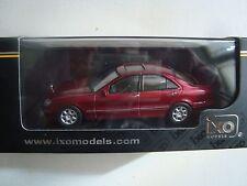 NEW IXO  MERCEDES BENZ S 500 W 220  NEUF EN BOITE 1/43° ANNEE 2000 ROUGE FONCE