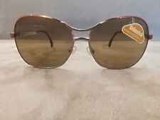 RODENSTOCK Butterfly Sunglasses GENUA 1778 A Color Two Tone Red  Brown Lenses