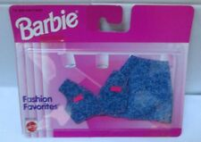 1996 NEW IN PACKAGE~BARBIE FASHION FAVORITES~DENIM 2 PC OUTFIT~68000-94~MOC~NRFP