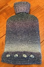 Hot water bottle cover hand knitted