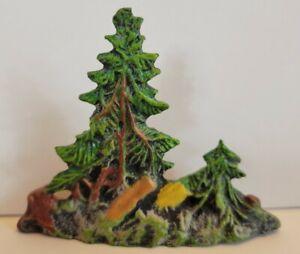 Lineol Elastolin Germany Vintage Trees Scenery Cowboys Indians Toy #2