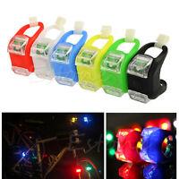 Fashion 2x Frog Silicone Bike Cycling Head Front Rear Wheel LED Flash Light Lamp
