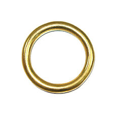 """Cast O Ring Solid Brass 1-1/8"""" 10 Pack"""