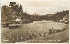 real photo Trossachs pier sir walter scott 1952