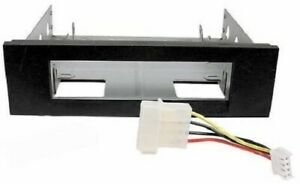 """3.5"""" to 5.25"""" Drive Bay Computer Case Mounting Adapter Bracket USB Hub Floppy"""