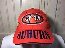 Auburn Tigers War Eagle Large Lettering Dad Hat Cap Orange One Size Sec Football
