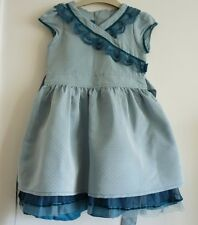 Fransa Beautiful Teal Dress, Size 2 years (92 cm) in Good Condition