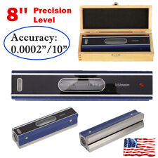 8 Heavy Duty Precision Master Bar Level For Machinist Tool 0000210 New