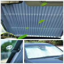 Aluminum Foil Automatic Retractable Car SUV Front Windshield Sunshade Sun Shield