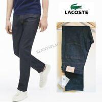 "LACOSTE Slim Tapered Jeans W33"" & W34"" L34"" *BNWT* Stretch Blue rrp;£110"