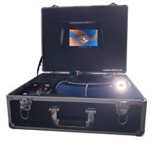 50m Profi-Color Rohrkamera Kanalkamera mit Aufnahmefunktion u. Akku