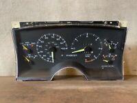 95-97 CHEVY GMC Sonoma Blazer Jimmy Instrument Cluster Tach Speedometer 16144915