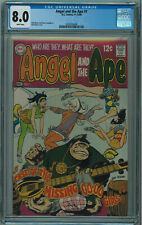 ANGEL AND THE APE #1 CGC 8.0 VERY SELDOM SEEN OR SOLD IN ANY CGC GRADE OW/W PGS