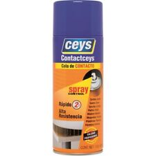 Spray du Colle CONTACT collage cuir bois formica caoutchouc 400 ml CEYS /EBCW