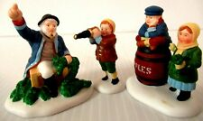 "Dept 56 ""The Old Man And The Sea"" ~ (Set Of 3) ~ * New England Village *"