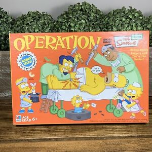 2005 Simpsons Operation Game by Hasbro Complete (no Instructions) Working