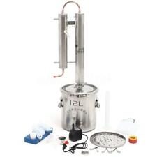 12L Home Distiller Moonshine Still Spirits Water Alcohol Oil Boiler Brew Kit