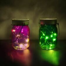 Loom Solar Powered Fairy Light Jars - Indoor or Outdoor Use Thumbs Up