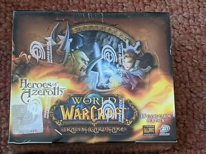 WOW TCG Heroes of Azeroth booster box
