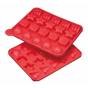 KitchenCraft Sweetly Does It 20 Hole Silicone Christmas Cake Pop Mould