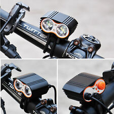 20000Lm Bike Bicycle Front LED Head Light USB Rechargeable T6 Waterproof Lamp