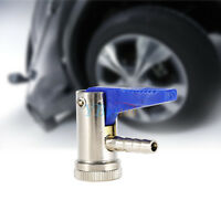 8mm Car Van Bike Tyre Airline Inflator Valve Tire Air Chuck Connector Clip On