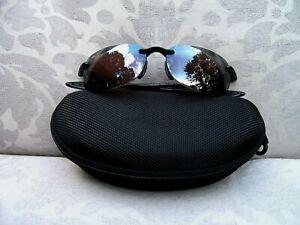 MAUI JIM SPORT SANDY BEACH Gloss Black/Maui Rose Polarized Sunglasses ~ R408-02
