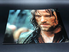 LORD OF RINGS HOBBIT PHOTOGRAPH PICTURE Viggo Mortensen Aragorn Ranger King LOTR