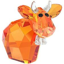 "Swarovski Crystal ""ORANGE-Mini Mo"" Brand New & Boxed-Ltd. Limited Edition"