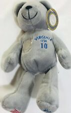Timeless Toys Collectible Bean Plush Quarter Bear State of Virginia w/ Tag