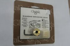 "Glastar 1"" Diamond Grinding Head Fine #30407 Glass Grinder Bit"