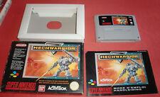 Super Nintendo Mechwarrior [PAL-FRA] SNES *JRF*