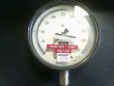500 PSI HELICOID MASTER TEST Pressure Gauge 6 face 1/4 NPT BOTTOM AIR PNEUMATIC