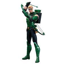 Green arrow justice league figurine new DC 52 NOV120313