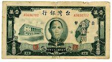 China ... P-1944 ... 10.000 Yuan ... 1948 ... *VG-F*
