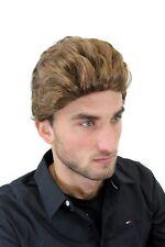 Perruque pour Homme Perruque Court Cool Grand Ondulés Braun GFW1286-12 Perruque